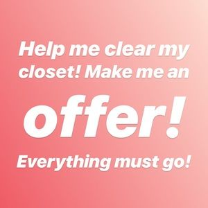 Other - Everything must go